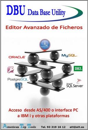 DBU Editor de ficheros multiplataforma