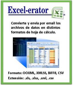 Excel-erator: Convierte archivos de base de datos de AS/400, iSeries, System i, IBM i a archivos de PC en formato de hoja de cálculo