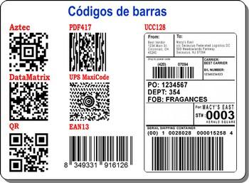 EzPrint Labels - Permite incorporar códigos de barras estándar y códigos de barras bidimensionales