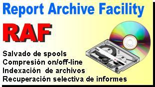 RAF - Salvado, compresión e indexaxión gestionada de archivos spool
